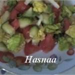 Salade sucrée marocaine
