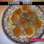 Tajine d'artichauts et d'abricots secs