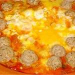 Tajine de boulettes de kefta aux œufs