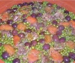 tajine-viande-de-veau-petits-pois-tomates