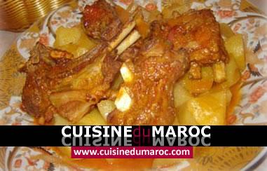 tajine-viande-mhammar-pommes-de-terre