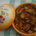 Zaalouk traditionnel aux courgettes