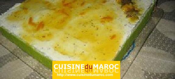 biscuit-capucine-mousse-mangue-kiwi