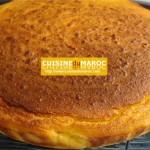 Biscuit moelleux aux amandes et orange