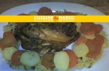blanc-poulet-farci-vermicelles-chinois