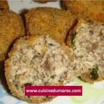 Boulettes de sardines frits