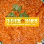 boulgour à la sauce tomates
