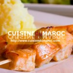 Brochettes de saumon