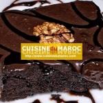 Brownies aux chocolats amandes et miel
