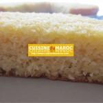 Cheese cake ananas et noix de coco