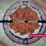 Chili con carne sur le riz