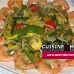 Chop Suey aux crevettes