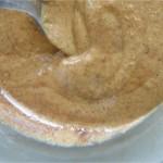 Préparer la crème d'amandes