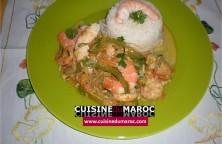 crevettes-riz-poivrons