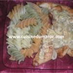 Escalope de poulet et crème champignon