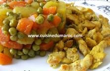 escalope-de-poulet-emince-aux-legumes