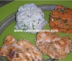 escalope-de-poulet-marine-legumes