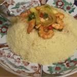 Vidéo Fatéma Hal : Couscous aux crevettes