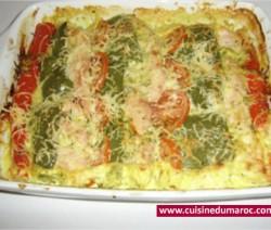 gratin-aux-escalopes-de-dinde
