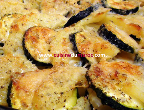 cuisine marocaine gratin de pomme de terre. Black Bedroom Furniture Sets. Home Design Ideas