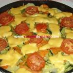 Gratin de légumes au fromage
