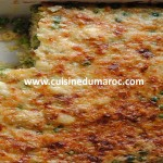 Gratin de pois chiches
