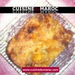 Lasagnes de viande hachée et sauce béchamel