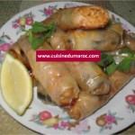 Nems aux nouilles et crevettes