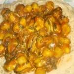 Pâtes sauce de moules et noix saint jacques