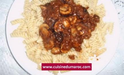 pates-crevettes-champignons