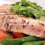 Pavé de thon aux légumes