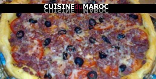 pizza-viande-hachee-tomate-fraiche