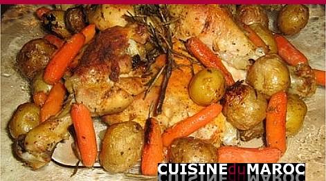 poulet-au-romarin