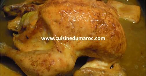 poulet-vermicelle-grille