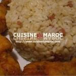 Recette de Lieu noir frit avec riz