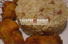 recette-lieu-noir-frit-riz