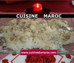 riz-au-poulet-champignon-creme-fraiche