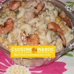 Salade de macaroni aux crevettes