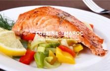 saumon-grille-sauce-mouchetee