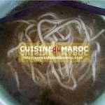 Soupe asiatique, nouilles chinoises
