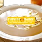 Soupe de marrons à la crème de céleri