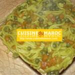 Spaghetti crevettes surimi