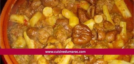 tajine-salsifis-boulettes-viande-hachee