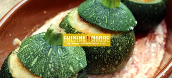 courgettes-rondes-farcies-champignon-viande-hachee