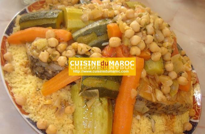 Couscous tunisien - Recette cuisine couscous tunisien ...
