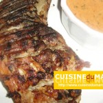 Cuisses de dinde au tandoori Massala grillé barbecue