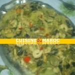 Curry vert de crevette et vermicelle
