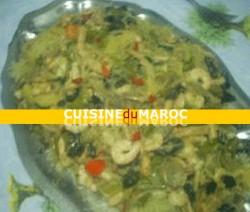 curry-vert-de-crevette-vermicelle